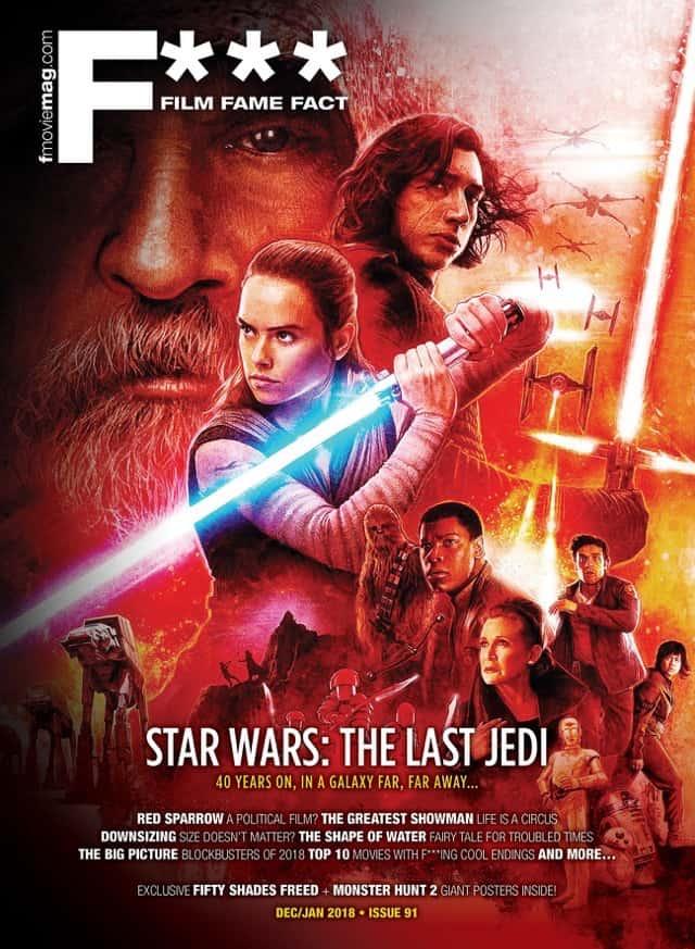 #91 (Dec/Jan 2018) – Star Wars: The Last Jedi