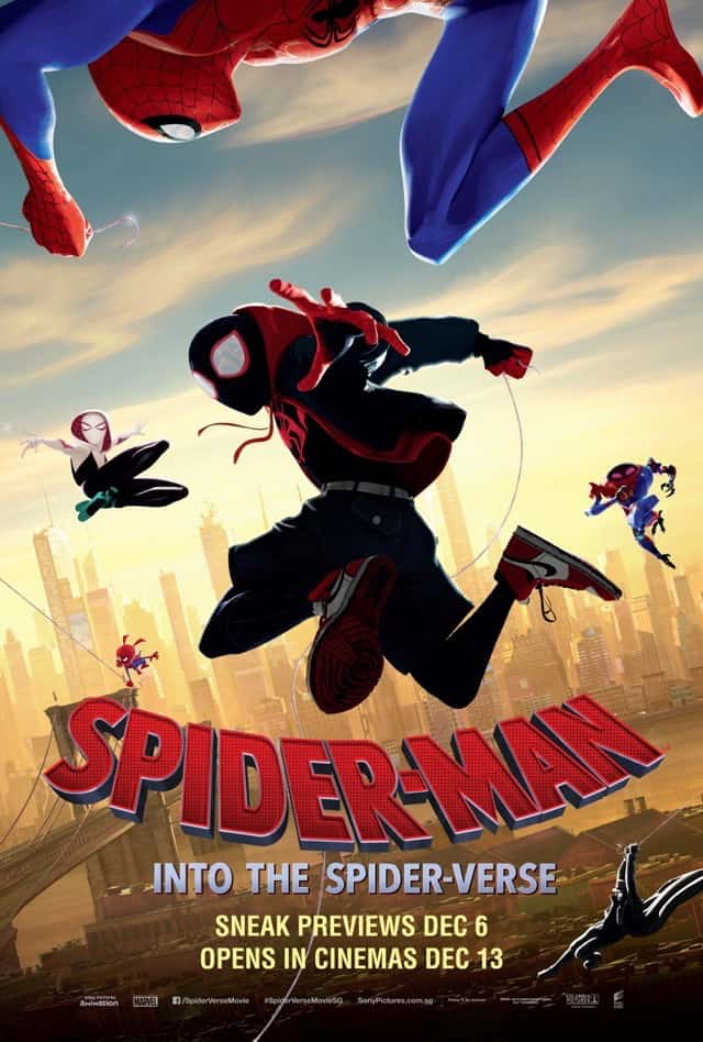 Spider-Man: Into The Spider Verse (2018) – Review