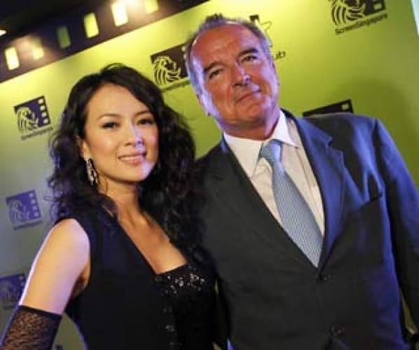 Zhang Ziyi Glams Up Inaugural Singapore Film Business Event