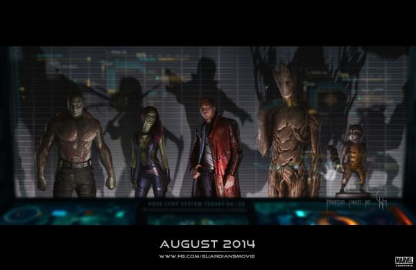 Marvel's 'Guardians Of The Galaxy' commences principal photography