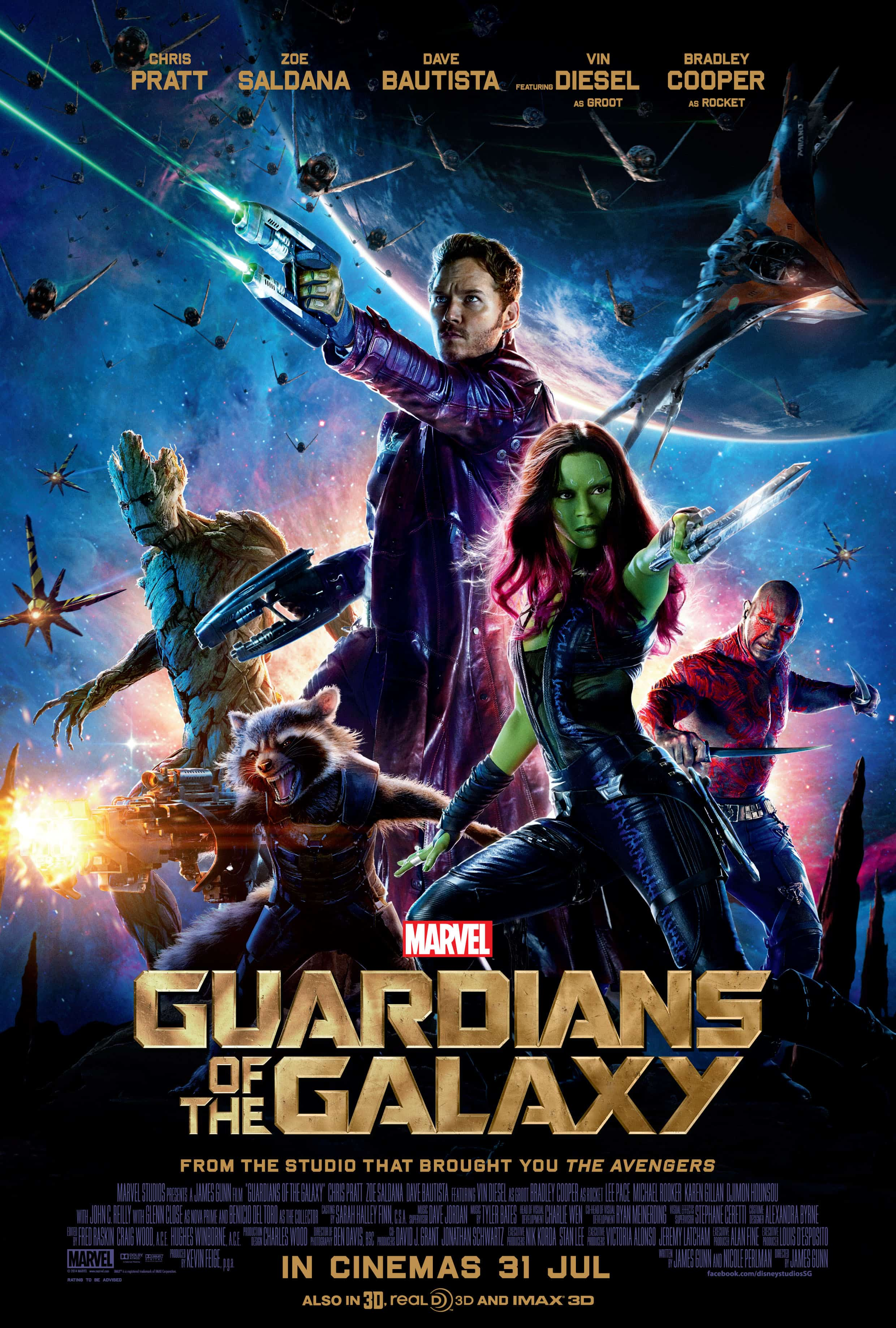 GUARDIANS OF THE GALAXY – Review