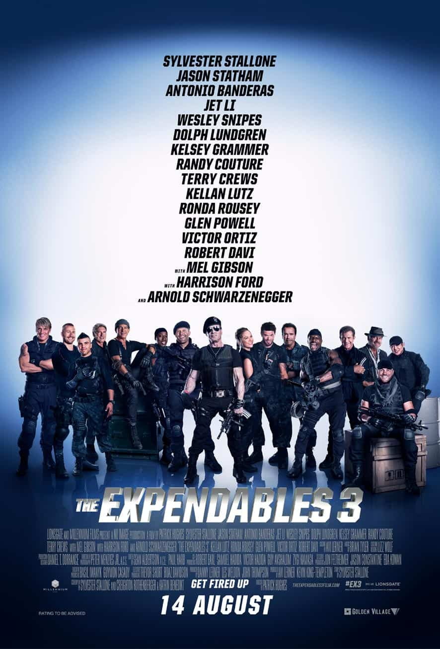 THE EXPENDABLES 3 – Review