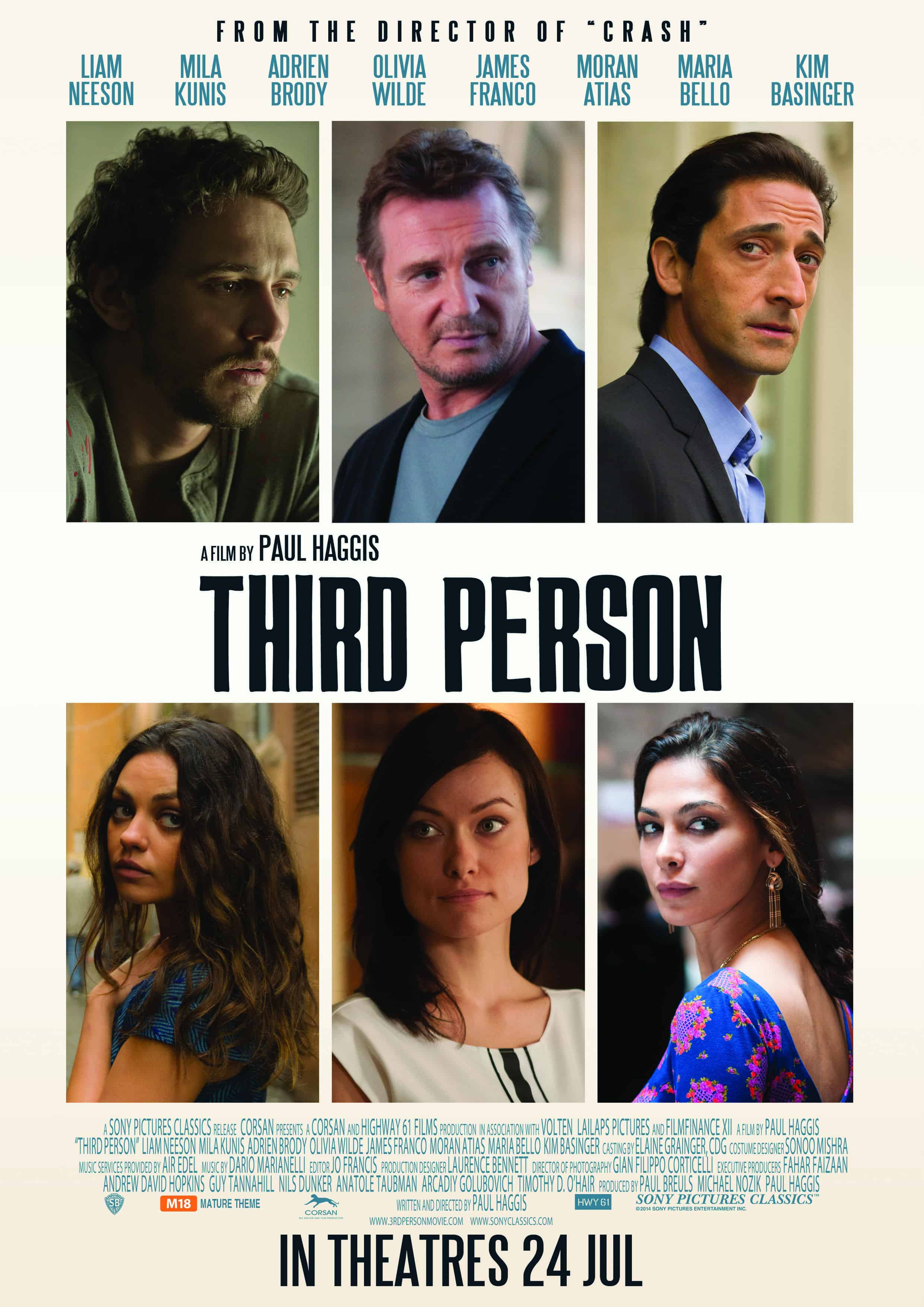 THIRD PERSON – Review