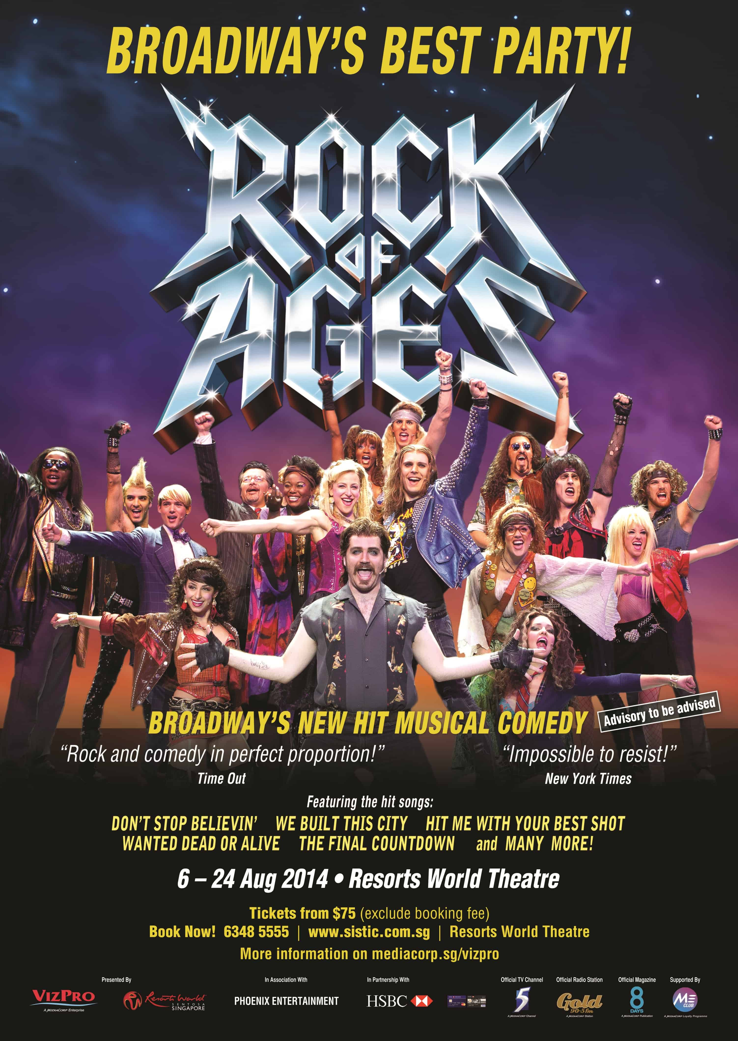 ROCK OF AGES – Musical Review