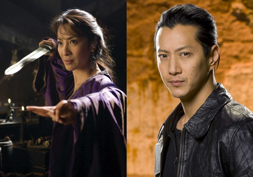 Asian stars Michelle Yeoh and Will Yun Lee join cast of Cinemax's 'Strike Back'