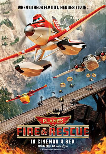 PLANES: FIRE AND RESCUE – Review