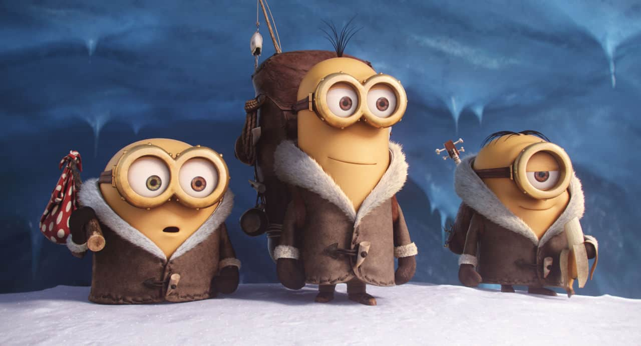 Here's the 1st trailer for 'Minions'! Totally NSFW: nudity and bananas…