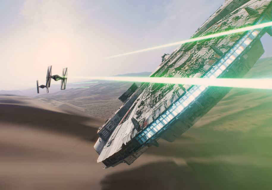 First trailer for 'Star Wars: The Force Awakens' is here!