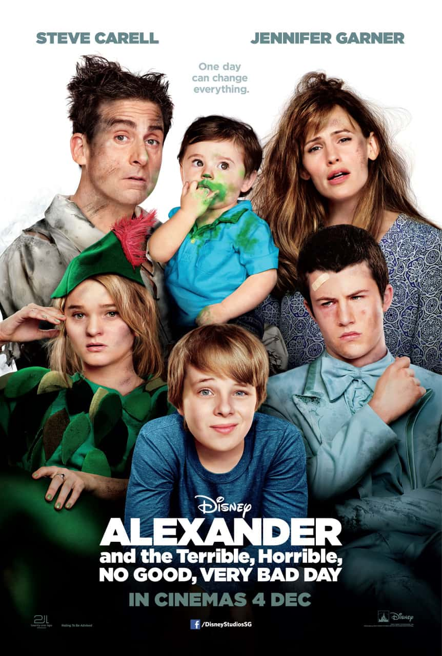 Alexander And The Horrible, Terrible, No Good, Very Bad Day – Review