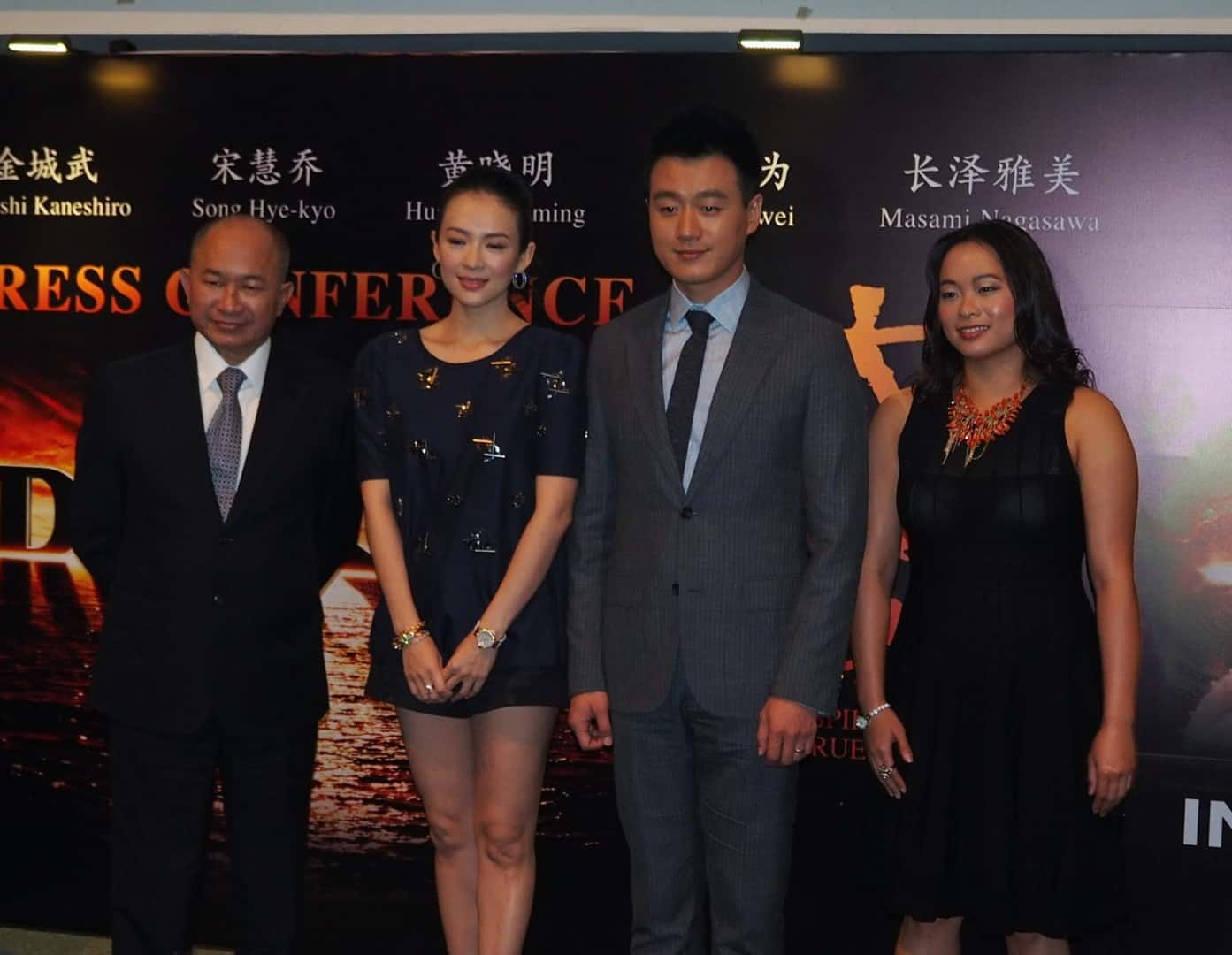 A-CROSS THE UNIVERSE – 'The Crossing' director and stars in Singapore