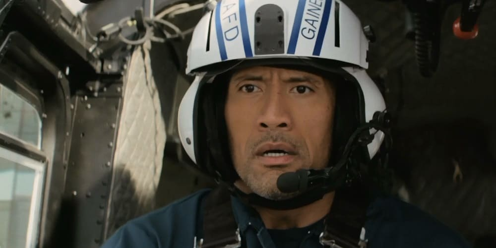 Hollywood crumbles in first trailer of The Rock's earthquake film 'San Andreas'