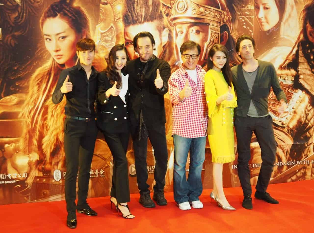 BLADE RUNNERS: F*** meets Jackie Chan and the stars of 'Dragon Blade' in Singapore
