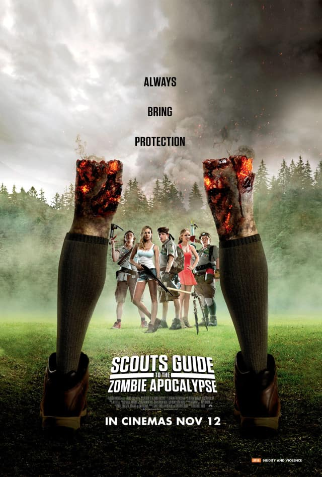 SCOUTS GUIDE TO THE ZOMBIE APOCALYPSE – Contest