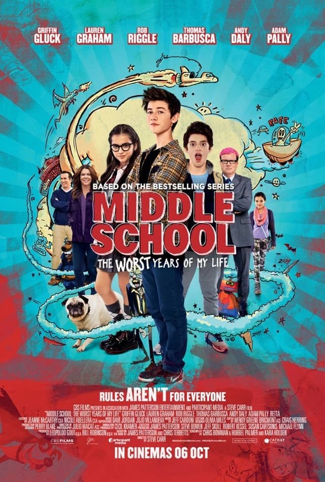 Middle School: The Worst Years of My Life – Review