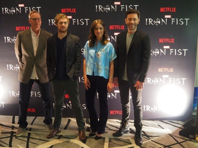 "A Little Bit of Fisticuffs: ""Iron Fist"" Press Conference"