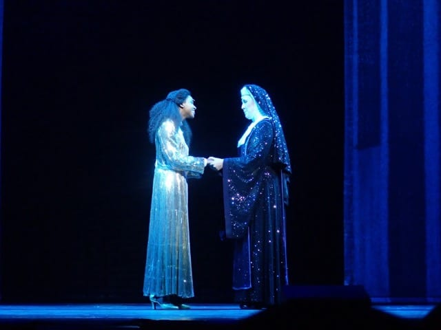"""She Ain't Heavy, She's My Sister: """"Sister Act the Musical"""" Press Call"""