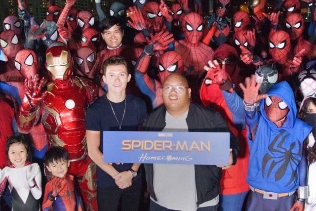 This Is Home, Truly: 'Spider-Man Homecoming' Stars In Singapore