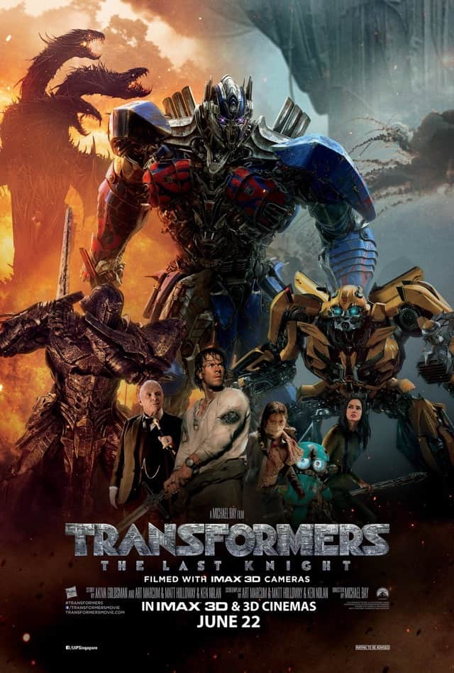 Transformers: The Last Knight (2017) – Review