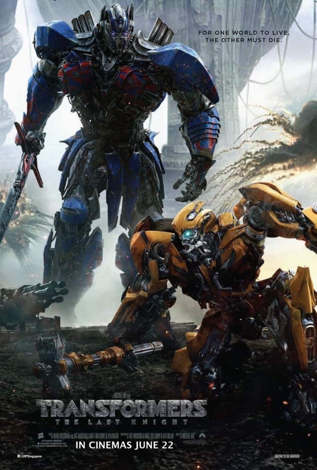 Transformers: The Last Knight – Contest