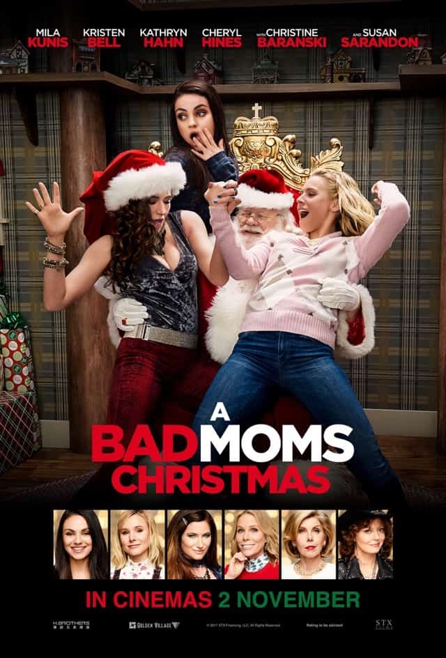 A Bad Moms Christmas (2017) – Review
