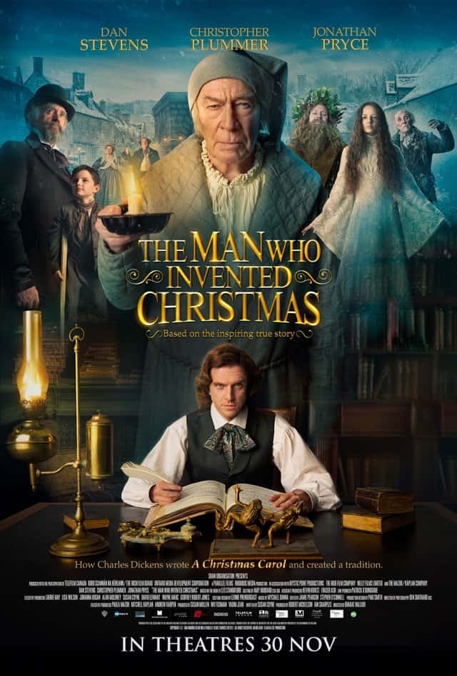 The Man Who Invented Christmas (2017) – Review