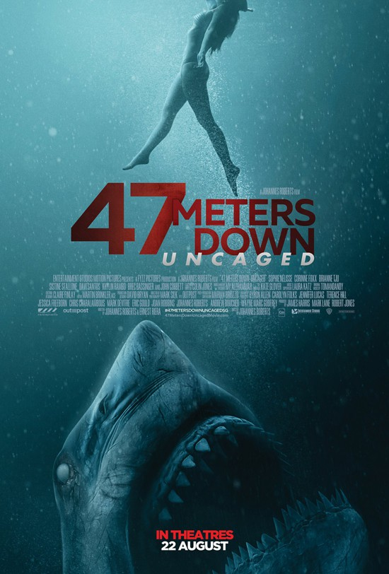 47 Meters Down: Uncaged (2019) – Review